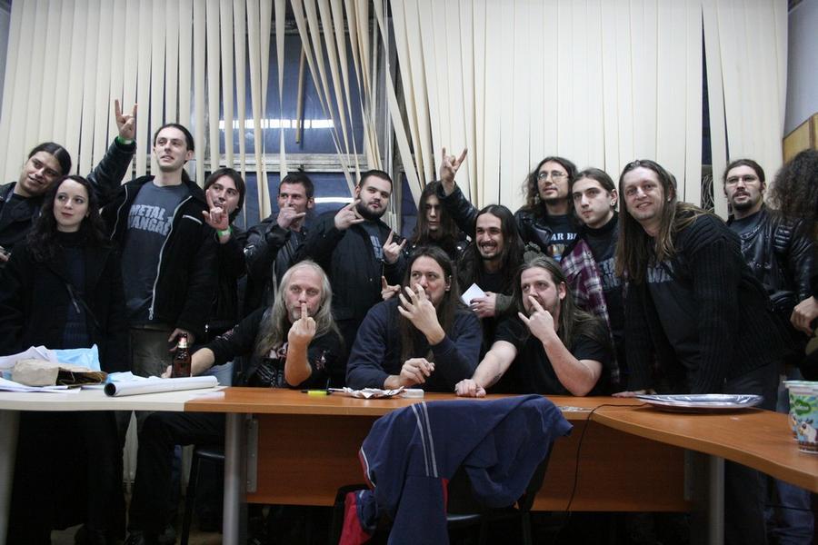 Специална среща на METAL HANGAR 18 със SODOM