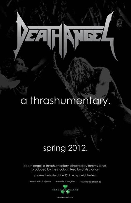 """Death Angel DVD """"A Thrashumentary"""""""