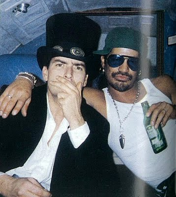 Charlie Sheen / Slash