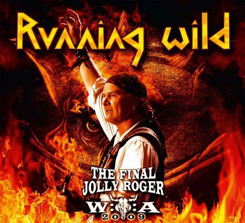 Running Wild - The Final Jolly Roger DVD