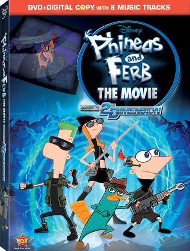 """Phineas And Ferb The Movie: Across The 2nd Dimension"""