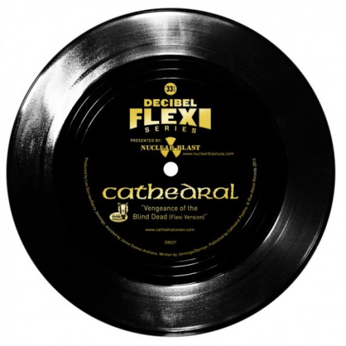 "Cathedral's ""Vengeance Of The Blind Dead"" flexi"
