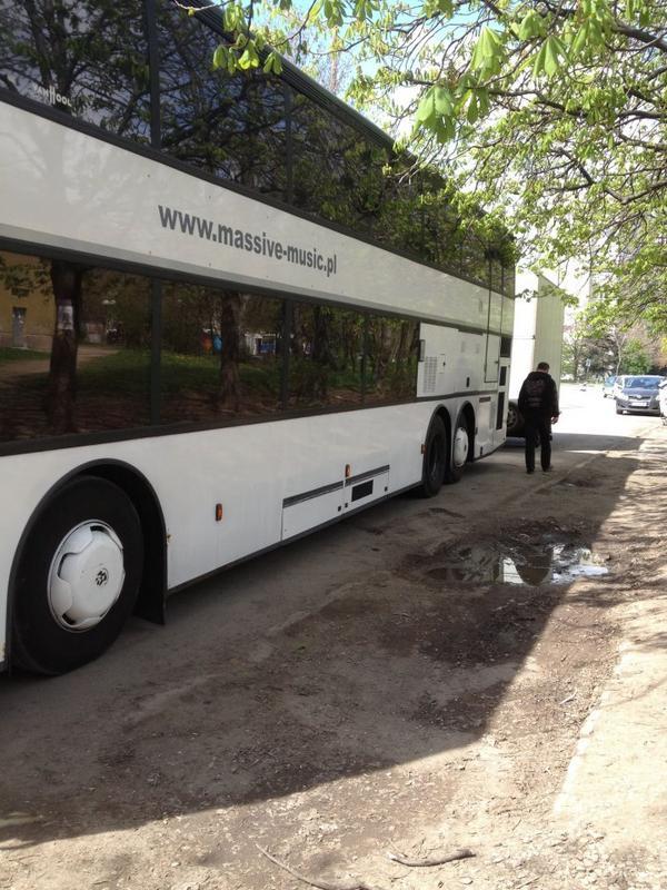 Автобусът на групите
