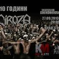 ciroza 27.09.13 poster concert