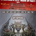 hypocrisy -warmup