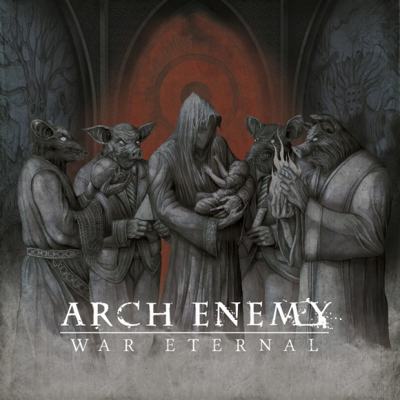 Arch Enemy War Eetrnal cover - bigger