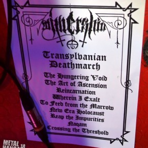 Withershin setlist