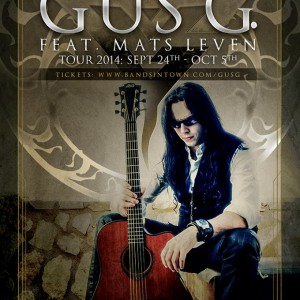 Gus G autumn tour Sofia 2014