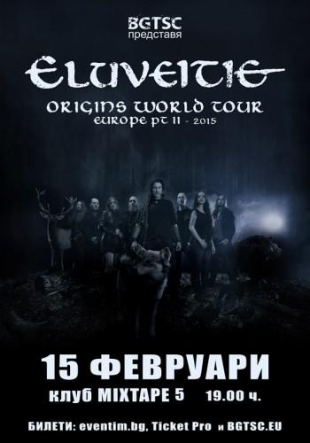 ELUVEITIE Poster 15.02.2015 - BG