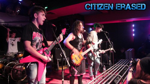 Citizen Erased live