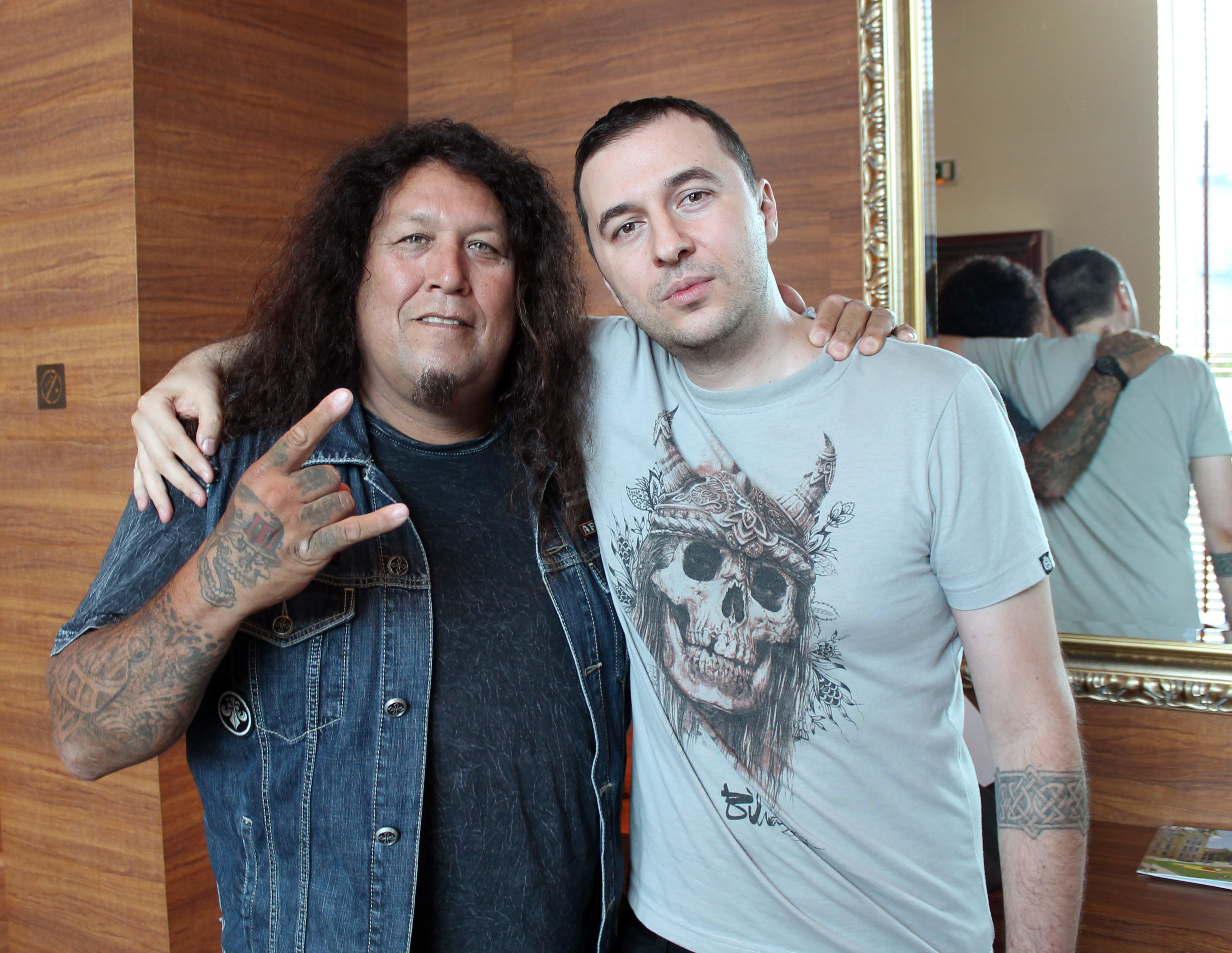 Vasko & Chuck Billy Testament 2014