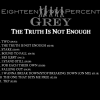 18% Grey The truth is not enough 2014 cover