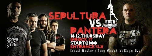 Pantera vs. Sepultura Vizia