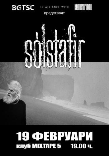 SOLSTAFIR POSTER 19 February 2015