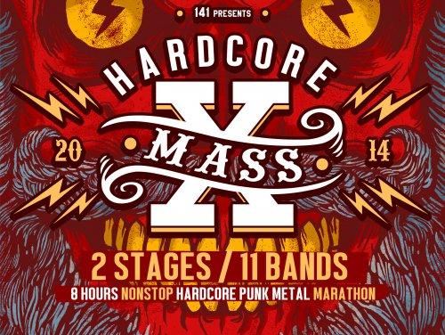 hardcore x-mass 2014