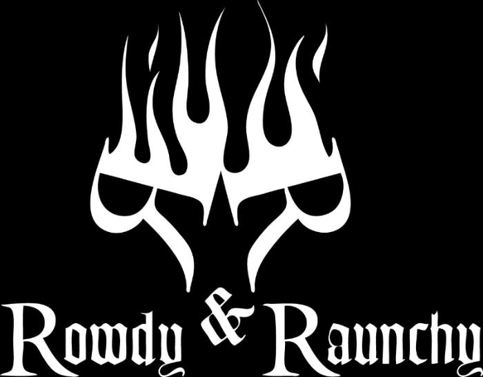 rowdy raunchy logo