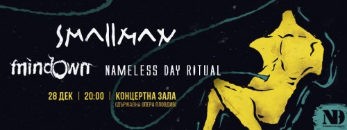 smallman mindown nameless day ritual concert poster