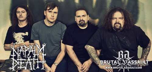 Brutal Assault2015 napalm death