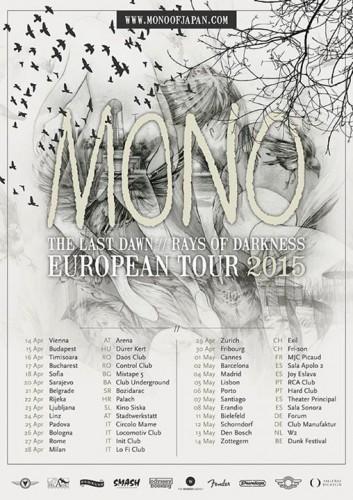 mono - tour poster