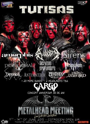 Metalhead Meeting 2015 TURISAS