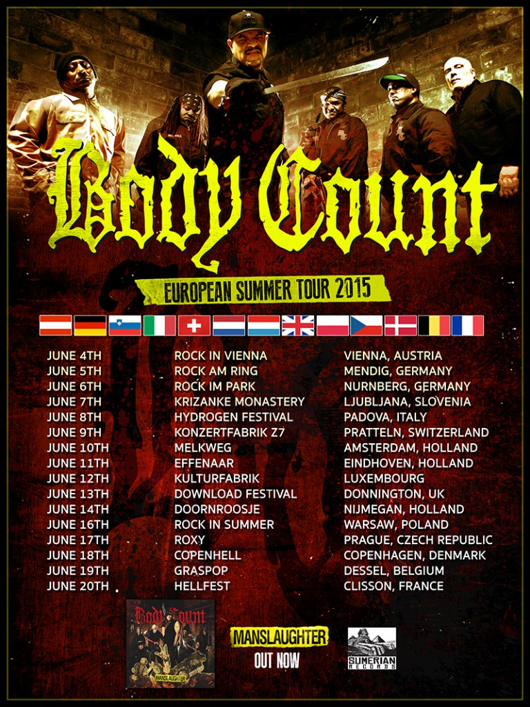 body count tour