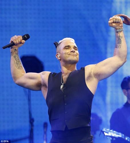 Robbie Wiliams in Madrid