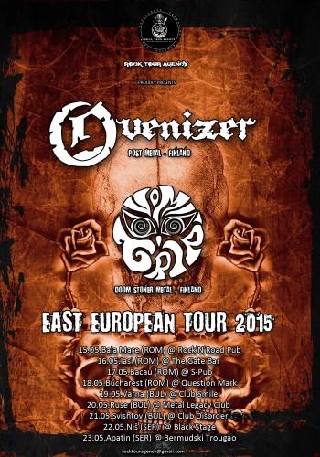 Ovenizer Vomitrip tour poster