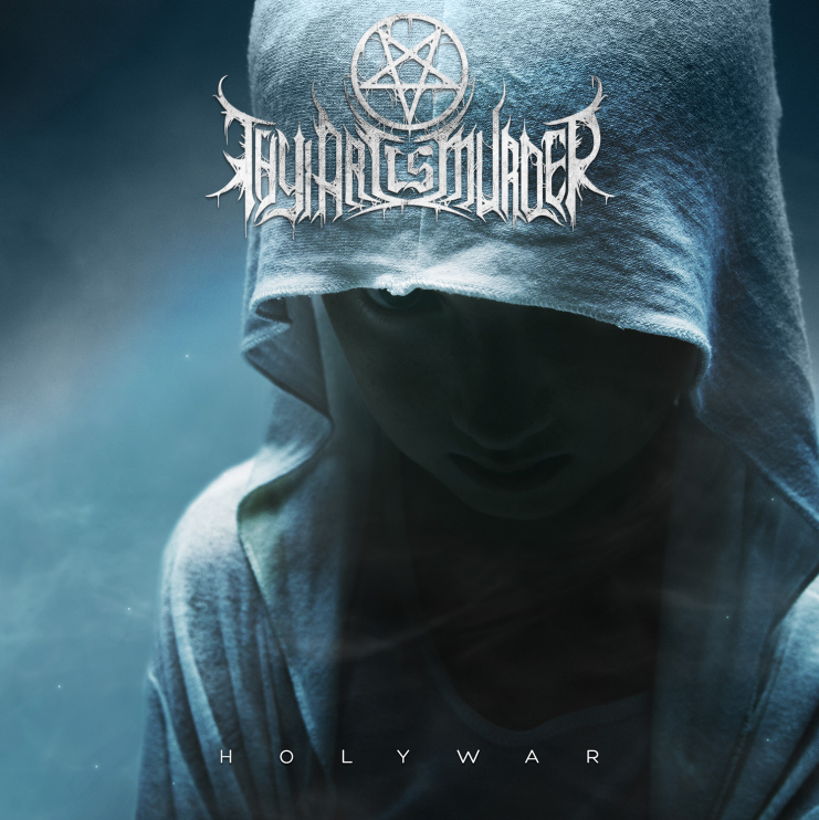 thy art is murder holy war 2015 cover