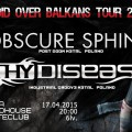 thy disease- obscure sphinx sofia-poster