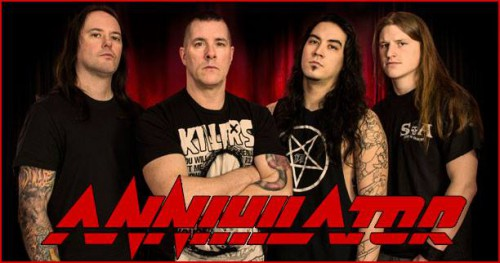 annihilator 2015 band
