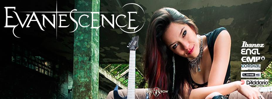 jen majura evanescence new bassist 2015