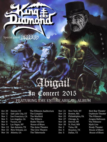 king diamond - abigail tour