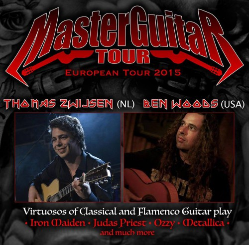 master guitar tour 8 years MH18 2015
