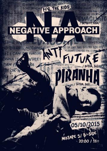 negative approach poster2015