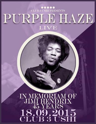purple haze 2015 tribute