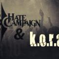 K.O.R.A. hate campaign fans