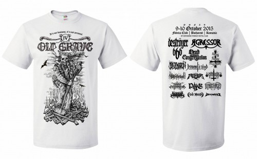 Old Grave Fest 2015 - 4th Edition t-shirt