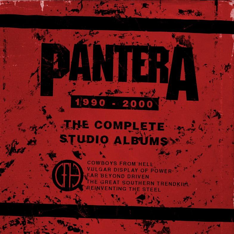 Pantera - Complete Studio Albums 1990-2000