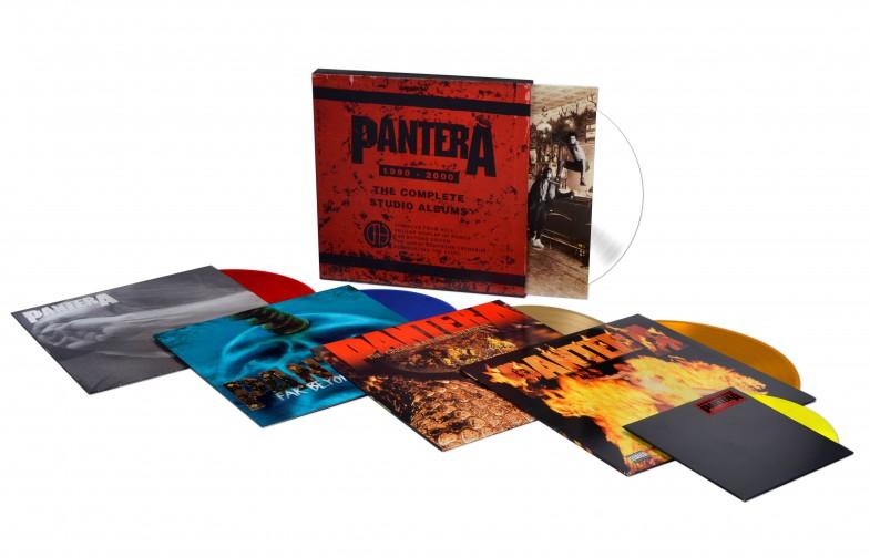 pantera vinyl box product shot