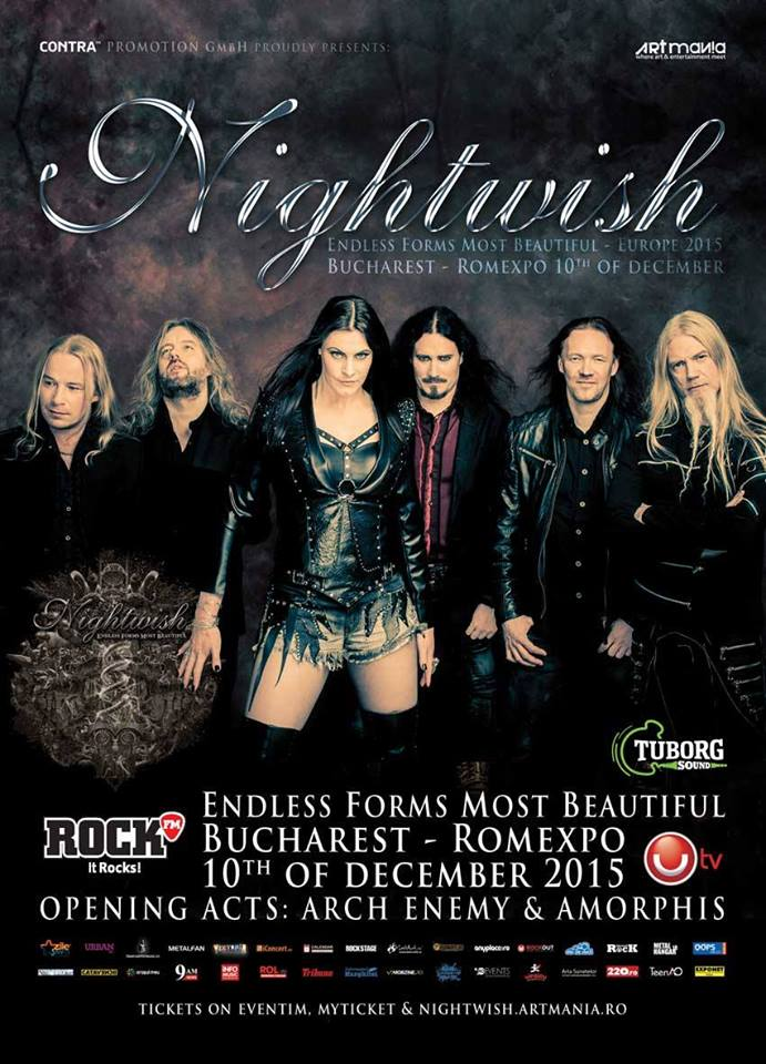 Updated: Nightwish/Arch Enemy/Amorphis live at Romexpo, Bucurest