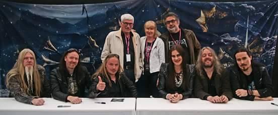 Plamen Dimov, Tuomas' parents and Nightwish