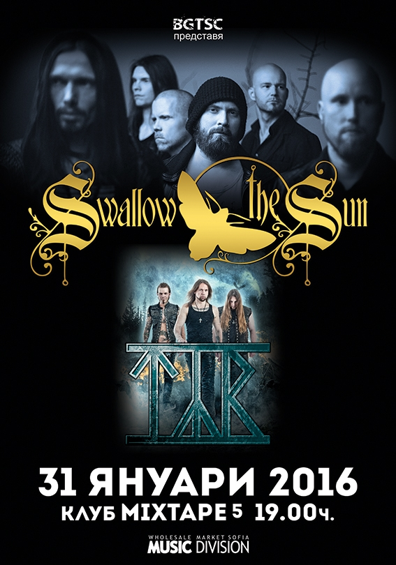 Swallow The Sun, TYR 20160131BG - Poster