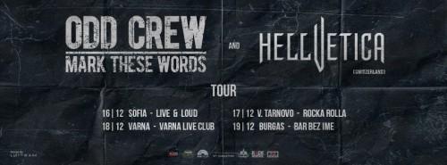 odd crew - hellvetica tour2015