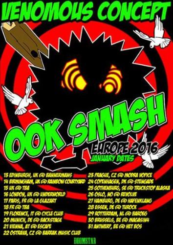 venomousconcept 2016 tour