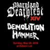 DEMOLITION HAMMER-2016-death fest