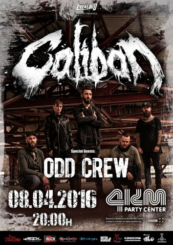 caliban-oddcrew-sofia-poster