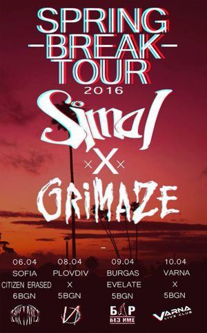 simai grimaze spring break tour