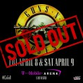 SOLD OUT; Guns N'Roses @T-Mobile Arena, Las Vegas
