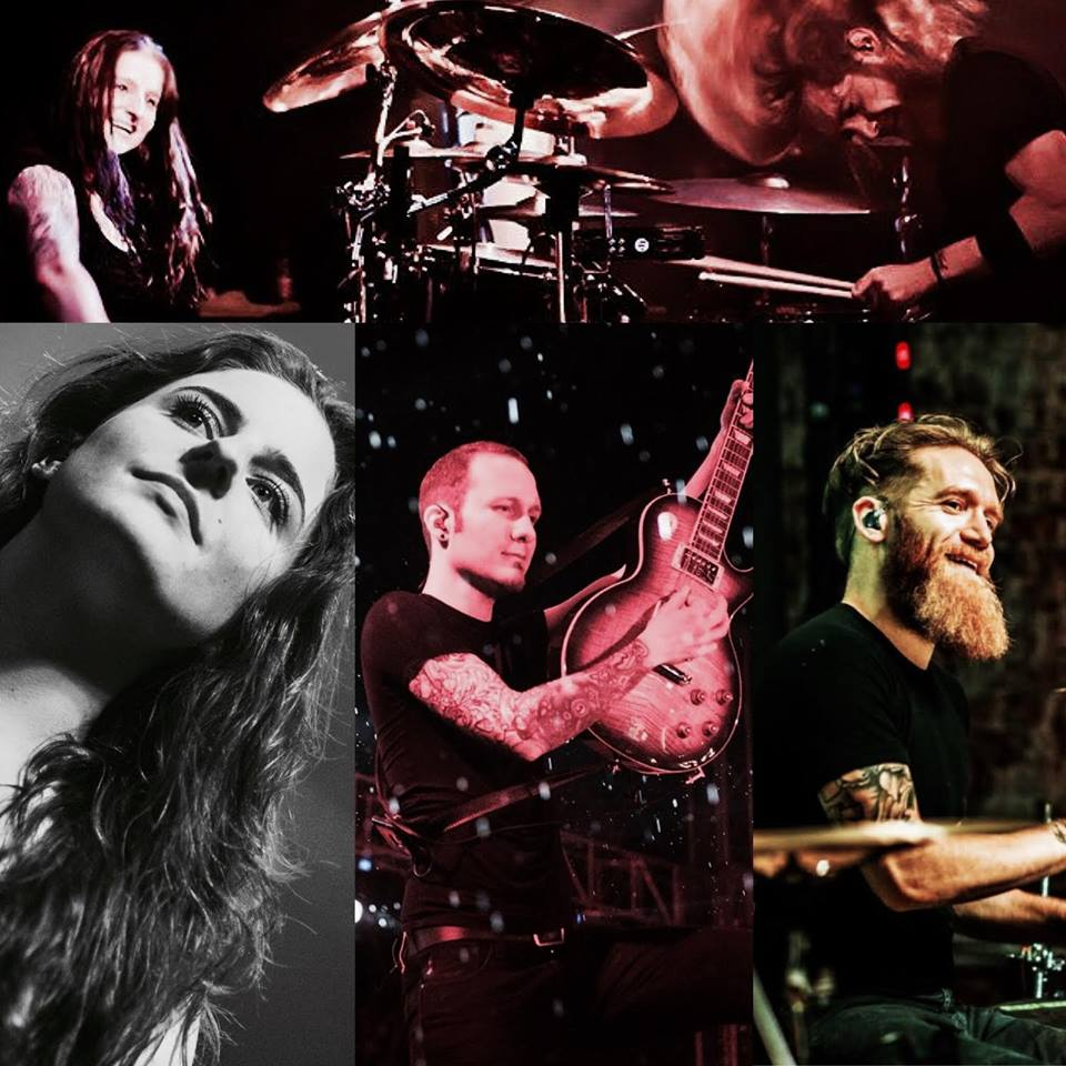 Eluveitie split with Merlin, Anna and Ivo
