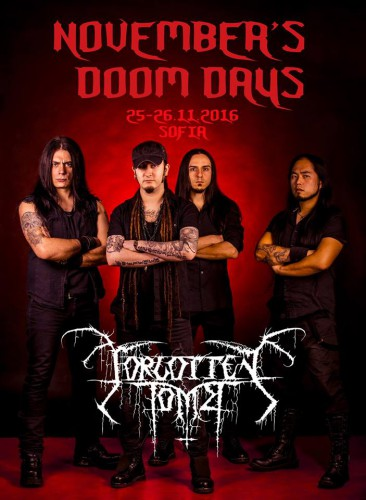 November's Doom Dayss_Forgotten Tomb